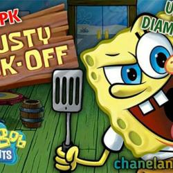 APK MOD Spongebob Krusty Cook-Off